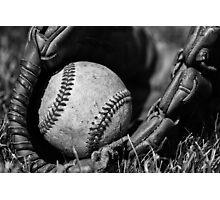 Baseball Gear Photographic Print