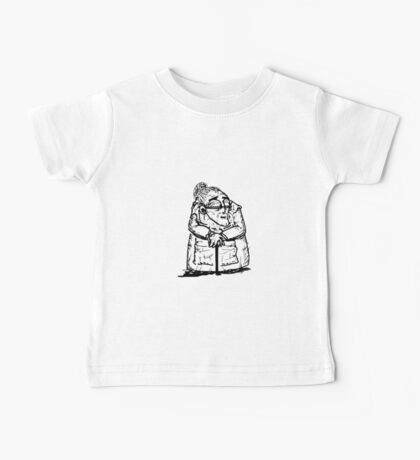Old-woman Baby Tee