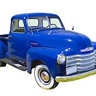 1947 Chevrolet Thriftmaster Antique Pickup by KWJphotoart