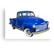 1947 Chevrolet Thriftmaster Antique Pickup Canvas Print