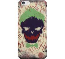 Joker's game card iPhone Case/Skin