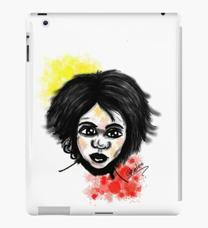 Aboriginal Boy iPad Case/Skin