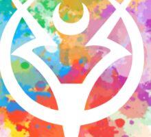 Shepard Splatter Colours Paint Sticker