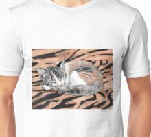 Sleeping Cat - 2012 Unisex T-Shirt