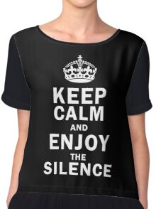 KEEP THE SILENCE Chiffon Top
