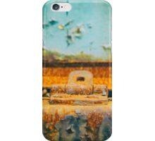 Rusted lock iPhone Case/Skin