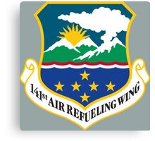 141st Air Refueling Wing (Washington Air National Guard) Canvas Print