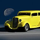1935 Chevrolet Sedan 'Blue Moon Rising' by DaveKoontz