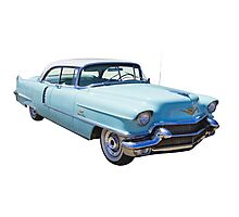 1956 Sedan Deville Cadillac Luxury Car Photographic Print