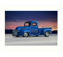 1946 Ford Custom Pickup Art Print