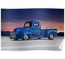 1946 Ford Custom Pickup Poster
