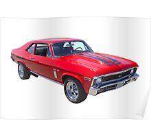 1969 Chevrolet Nova Yenko 427 Muscle Car Poster