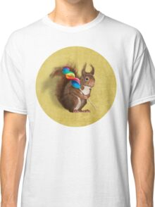 Squirrel with lollipop Classic T-Shirt