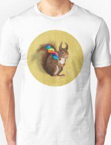 Squirrel with lollipop Unisex T-Shirt
