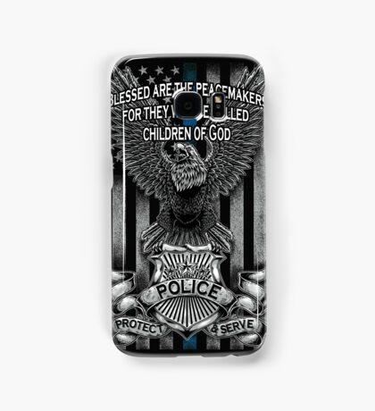 Children of God-Blue Lives Matter Samsung Galaxy Case/Skin