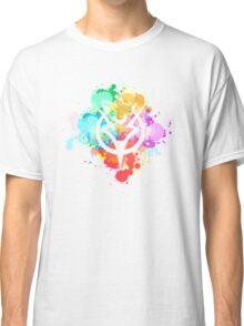 Shepard Splatter Colours Paint Classic T-Shirt