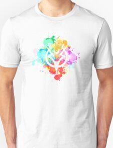 Shepard Splatter Colours Paint Unisex T-Shirt