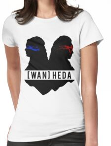 heda lexa Womens Fitted T-Shirt