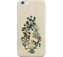 Renaissance Flower Garden iPhone Case/Skin