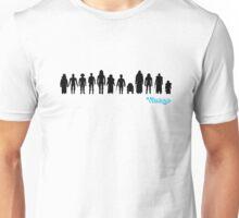 Vintage STAR WARS 12 Back Kenner Style Action Figures Unisex T-Shirt