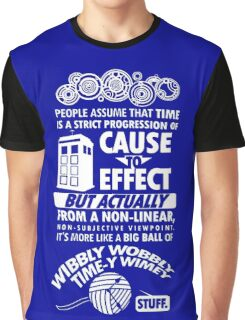Wibbly wobbly Graphic T-Shirt
