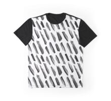 Gouache brush strokes #1 Graphic T-Shirt