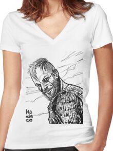 Floki Women's Fitted V-Neck T-Shirt