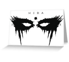 heda lexa Greeting Card