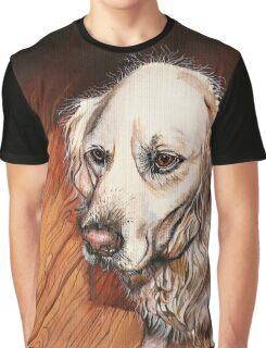 Charlie The Golden Retriever Graphic T-Shirt