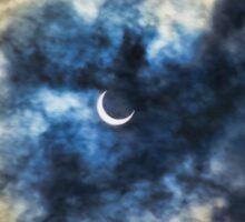 Solar Eclipse Sticker
