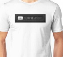 Slide to Unlock Unisex T-Shirt