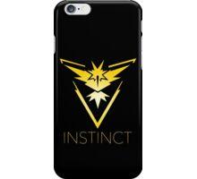 Pokemon go, Team Instinct Team Yellow iPhone Case/Skin