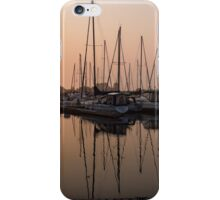 From Orange to Pink - a Morning Smooth as Silk iPhone Case/Skin