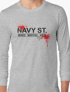 NAVY STREET MMA BLOOD Long Sleeve T-Shirt