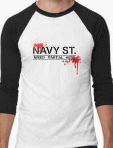 NAVY STREET MMA BLOOD Men's Baseball ¾ T-Shirt