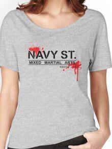 NAVY STREET MMA BLOOD Women's Relaxed Fit T-Shirt