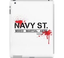 NAVY STREET MMA BLOOD iPad Case/Skin