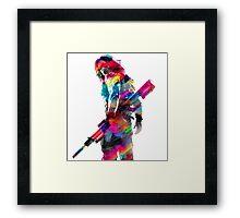 Winter Soldier Framed Print