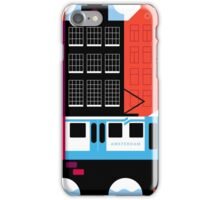 Postcards from Amsterdam / Tram iPhone Case/Skin