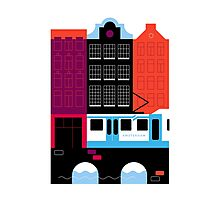 Postcards from Amsterdam / Tram Photographic Print