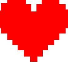 8 Bit Heart by callmeJkay
