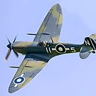 Seafire LF.IIIc PP972 G-BUAR banking by Colin Smedley