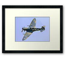 Seafire LF.IIIc PP972 G-BUAR banking Framed Print
