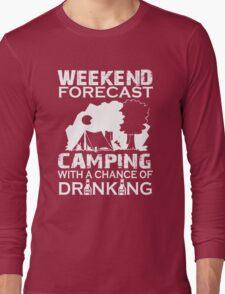 Weekend Forecast Tshirt Long Sleeve T-Shirt