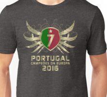 Portugal Euro 2016 Champions ID-DTG2 Unisex T-Shirt