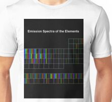 Periodic Table of Elements Spectra Unisex T-Shirt