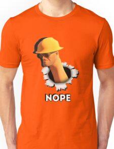 Nope [Engineer TF2] Unisex T-Shirt