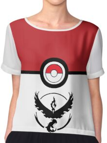 Go VALOR - Pokemon Go Chiffon Top