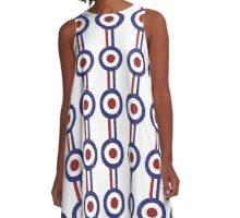 weathered and faded mod target A-Line Dress