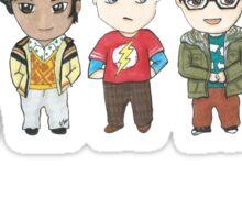 Sheldon and Friends Sticker